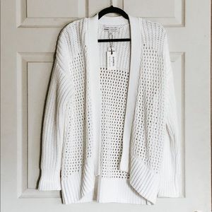 Express Open-Stitched Cardigan